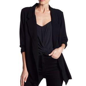 Lush Blazer Long Sleeve Black Size Medium EUC